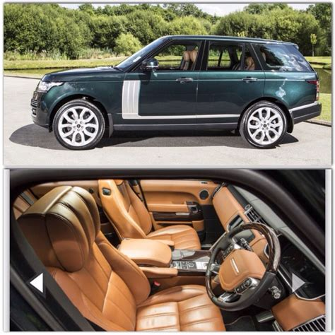 british range rover land rover range rover autobiography british racing green