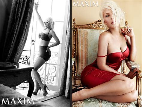 Aguilera Smokin On Maxim by Valerie And Bill Nye The Science On