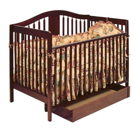 storkcraft chelsea 4 in 1 convertible crib with storage