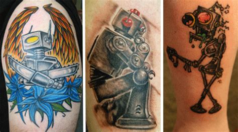 biomechanical tattoo robot robot tattoos awesome works of mechanical body art urbanist