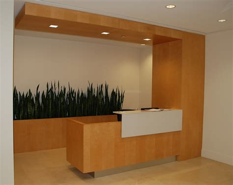 Reception Desks Canada Canada Colors Reception Desk Wills 235 Ns Architectural Millwork On