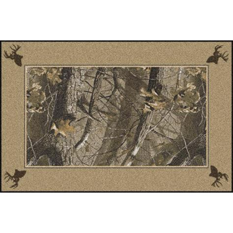 realtree camo rug camouflage area rugs realtree hardwoods solid border rugs camo trading