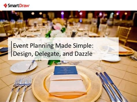 event design and planning event planning made simple design delegate and dazzle