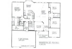 custom ranch floor plans house plans