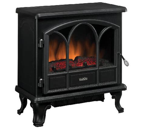 duraflame electric fireplace heater duraflame pendleton electric stove fireplace heater qvc