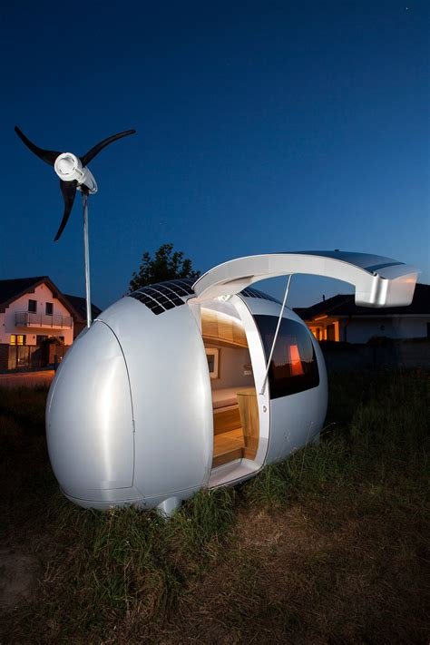 Trailer Homes Interior ecocapsule the solar and wind powered home is available