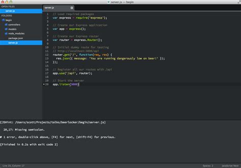 sublime text 3 javascript theme 转 3 essential sublime text plugins for node javascript