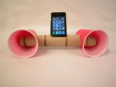 How To Make A Paper Phone Easy - 3 ways to make paper cup iphone speakers wikihow