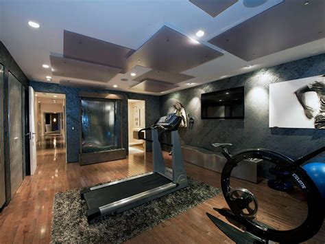 home gym interior design 2010 esquire house on sunset strip 43 home ideas