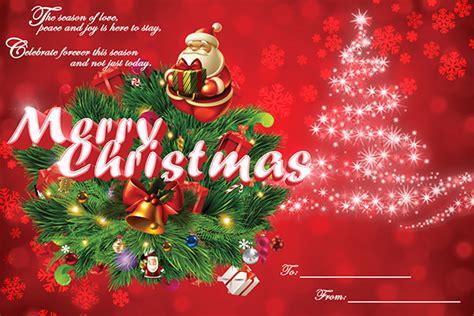 christmas card template   psd vector eps illustration