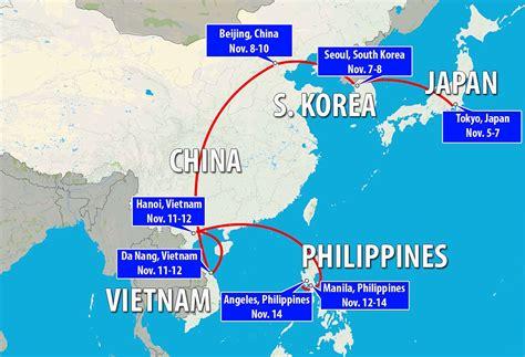 trump predicts north korea success    work