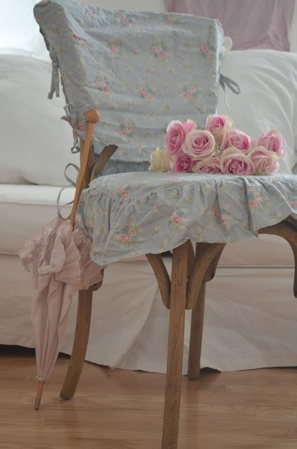 vintage chair cover and roses shabby chic pinterest