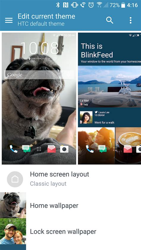 htc themes editor a closer look at the htc 10 s powerful theme engine