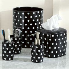 Polka Dot Bathroom Accessories Polka Dot Bathroom Decor Interior Design For House