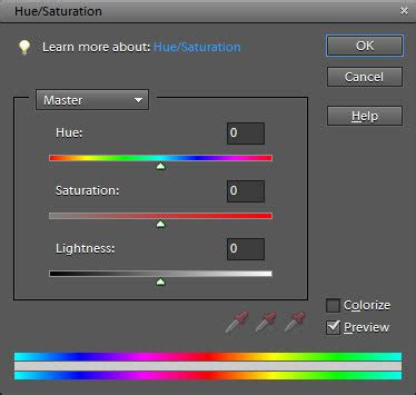 adobe photoshop hue saturation tutorial adjusting the hue and saturation of images in photoshop