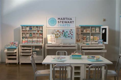 martha stewart living home decorators collection martha stewart crafts are displayed here on some of the