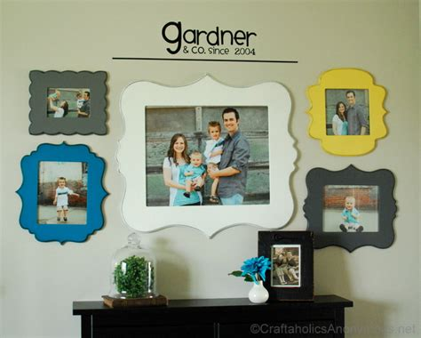 grouping family pictures on a wall craftaholics anonymous 174 33 ideas to display school photos