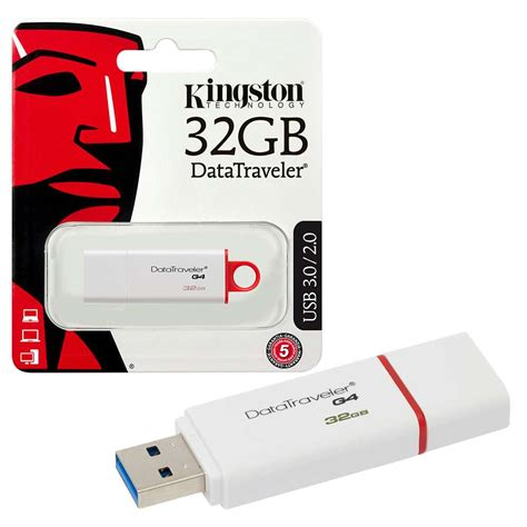 Kingston Usb 3 0 32gb kingston datatraveler g4 usb 3 0 flash drive usb 3 0