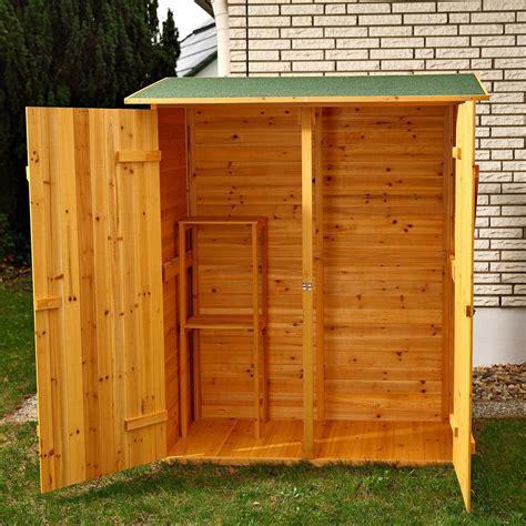 armadi x esterni armadio in legno da esterno 162 x 140 x 75 cm resistente