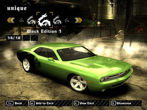 nfs most wanted wagen need for speed most wanted dodge challenger concept nfs