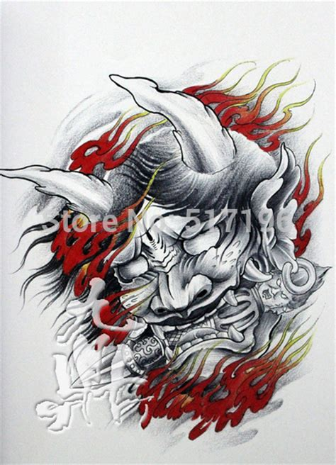traditional chinese tattoo drawing