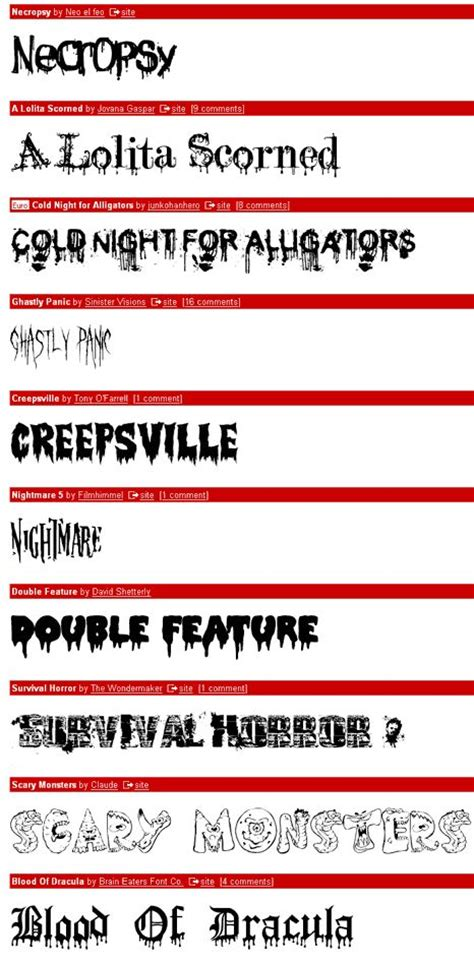 dafont dripping font dafont scary halloween fonts this is halloween