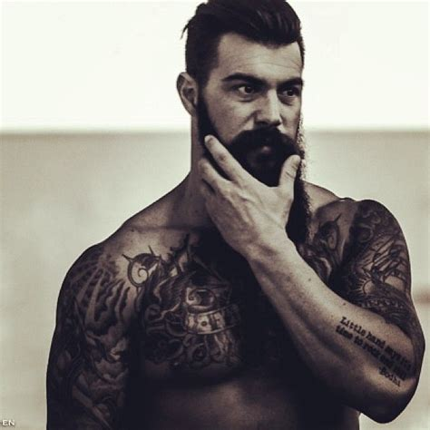 bearded with tattoos 17 best ideas about bearded tattooed on