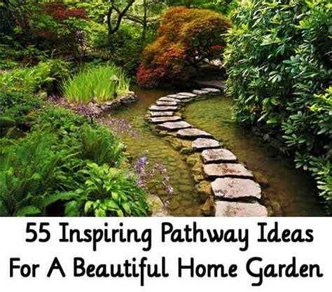 55 Inspiring Pathway Ideas For A Beautiful Home Garden | 55 inspiring pathway ideas for a beautiful home garden