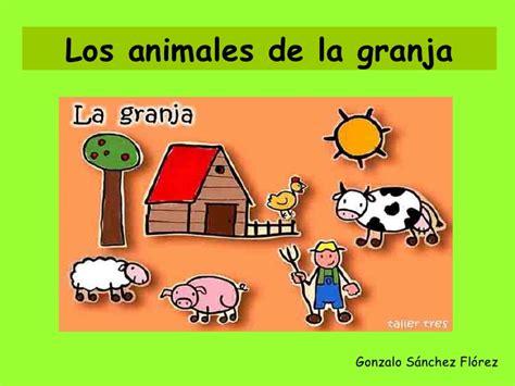 la granja y sus 843054898x los animales de la granja