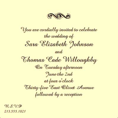 wedding invitation etiquette and wedding invitation