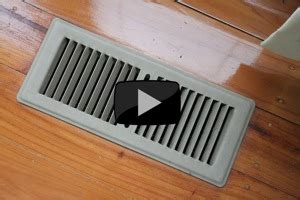 now how to draught proof ducted gas heating vents