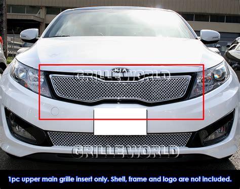 Kia Optima Grille Fits 2011 2013 Kia Optima Hybrid Sx Ex Turbo Stainless