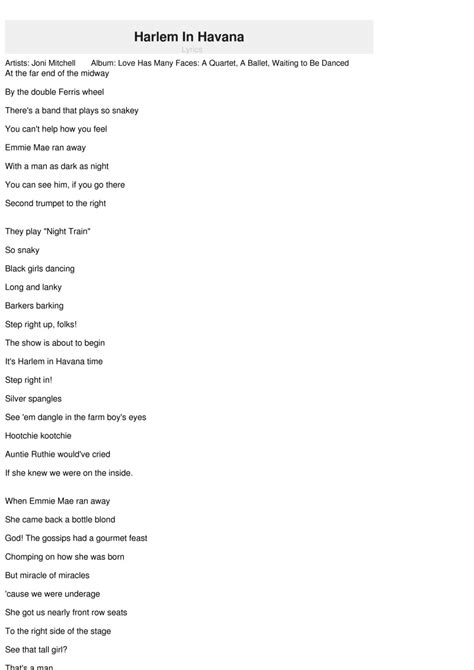 havana lyrics child in time lyrics