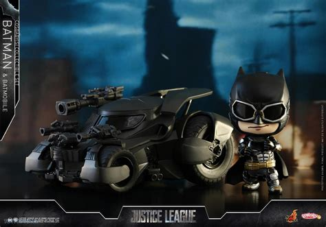 Cosbaby Armored Batman Matte Black From Hottoys batman and batmobile cosbaby s collectible set only myr298 00