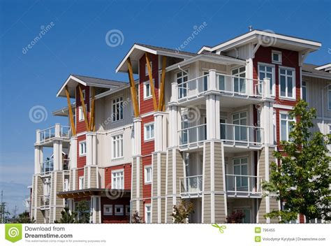 Appartment Complexes by Apartment Complex Royalty Free Stock Photo Image 796455