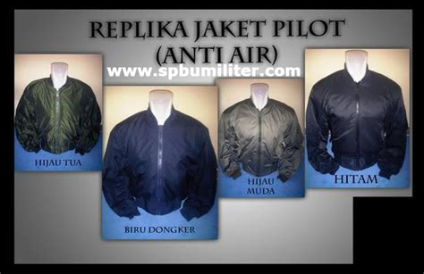 Jaket Loreng Kopasus Pom jaket pilot anti air spbu militer
