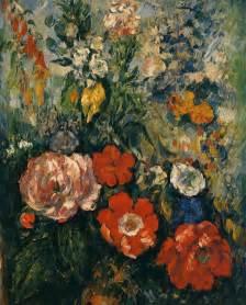 Van Gogh Flowers In Vase Bouquet Of Flowers C 1880 Paul Cezanne Wikiart Org