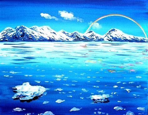 paint nite bay paint nite rainbow glacier bay