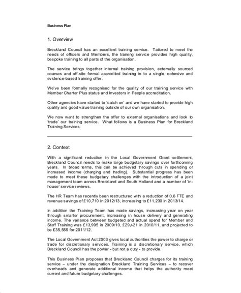 personal business plan template plan 13 free pdf word documents