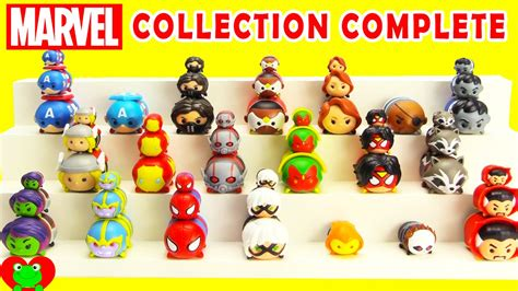 Tsum Tsum Figure Collection marvel tsum tsum collection complete with limited edition