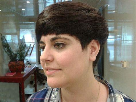 cortes de pelo corto desfilado corte pelo corto desfilado hacia adelante peluquer 237 a