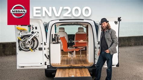 nissan nv200 office nissan e nv200 workspace first all electric mobile office