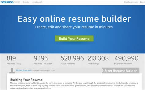 Resume Builder Jquery Free Resume Maker Tools Smashingapps