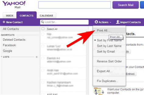 Yahoo Mail Email Address Search Yahoo Mail Print All Setuix