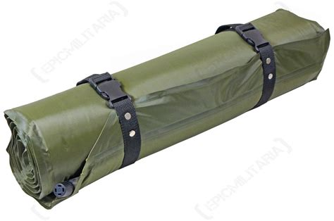 lightweight thermal  inflating roll mat olive