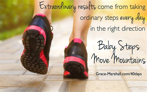 baby steps baby steps quotes like success