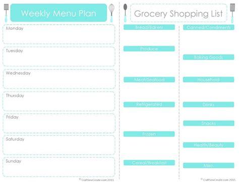 best printable meal planner 118 best meal planning grocery list printables images on