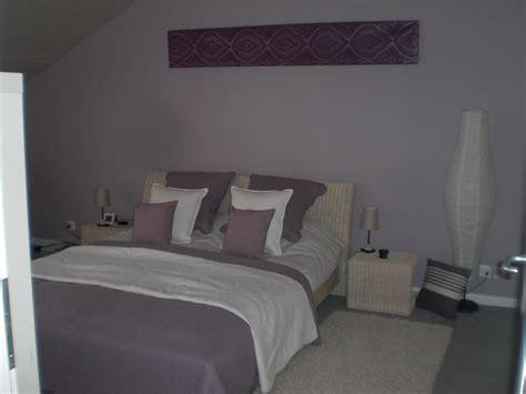 chambre lilas et gris chambre mauve et blanche