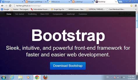 tutorial membuat website dengan xp yudoblogs tutorial membuat website dengan bootstrap