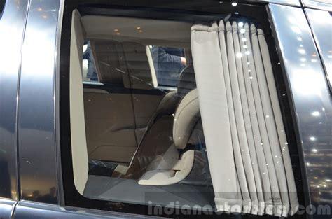 maybach curtains mercedes maybach pullman rear seat curtain view at geneva